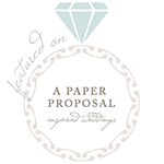 a paper proposal badge