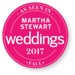 Martha Stewart Weddings 2017 Badge