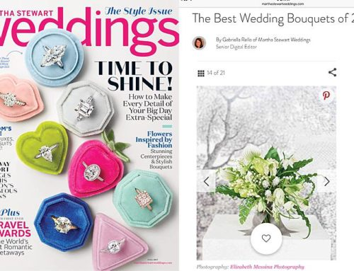 2017 FLOWER REFLECTIONS: MARTHA STEWART WEDDINGS FEATURE